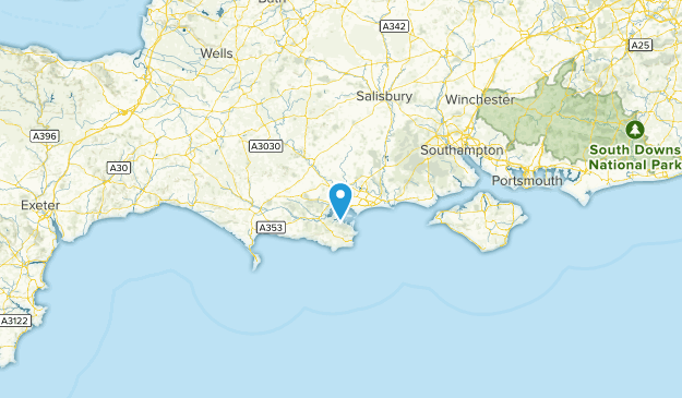 Poole, England Cities Map
