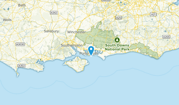 Map Of England Portsmouth.Best Trails In Portsmouth England Alltrails