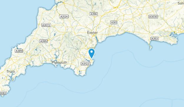 Torbay, England Map