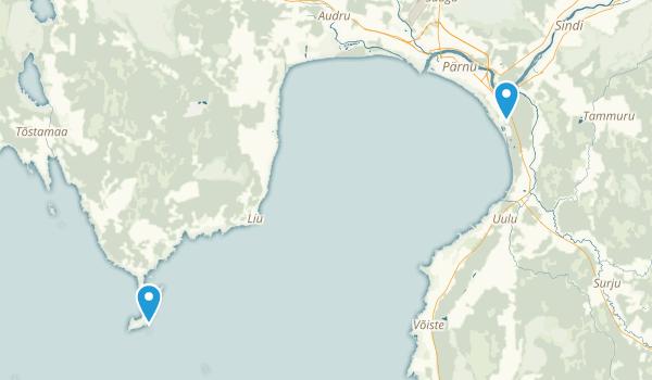 Pärnumaa, Estonia Map