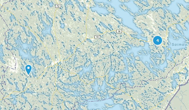 Southern Savonia, Finnland Cities Map