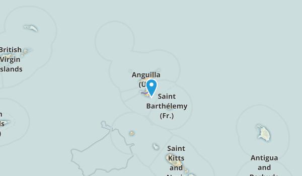 St. Martin, France Map