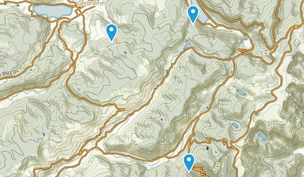Vosges, France Map