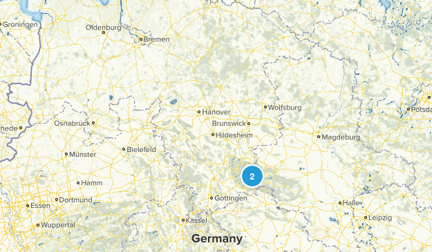 Niedersachsen, Germany Map