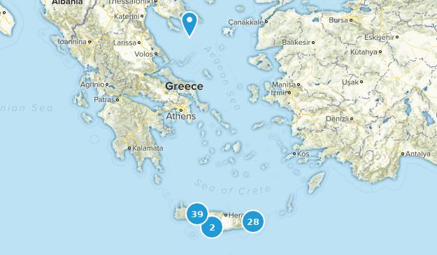 Best Trails In Crete Greece Alltrails