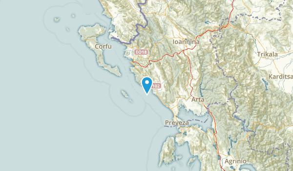Epirus, Greece Map