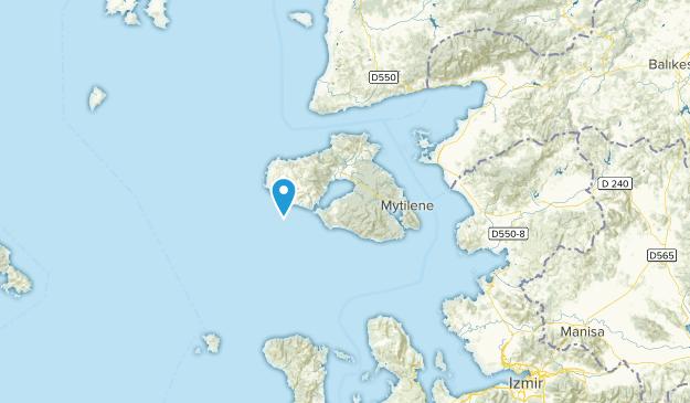 North Aegean, Greece Map