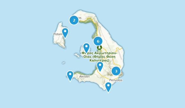 Best Trails In Santorini Greece Alltrails