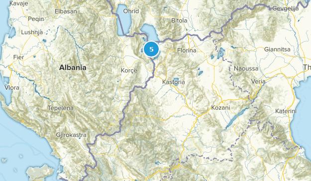 West Macedonia, Greece Map