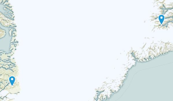 Qeqqata Kommunia, Greenland Map