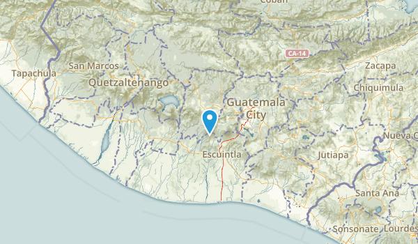 Chimaltenango, Guatemala Map