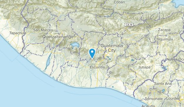 Chimaltenango, Guatemala Cities Map