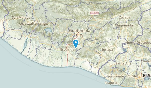 Escuintla, Guatemala Map