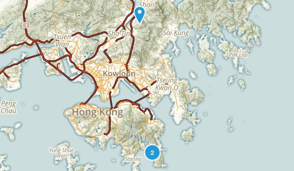 Sha Tin, Hong Kong Map