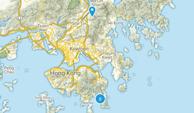 Sha Tin, Hong Kong Map