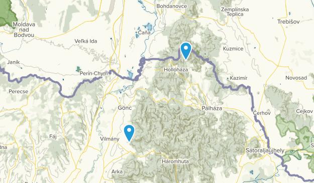 Borsod-Abaúj-Zemplén, Hungary Map