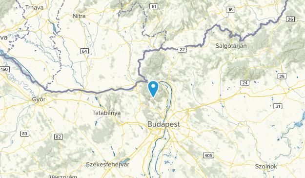 Komárom-Esztergom, Hungary Map