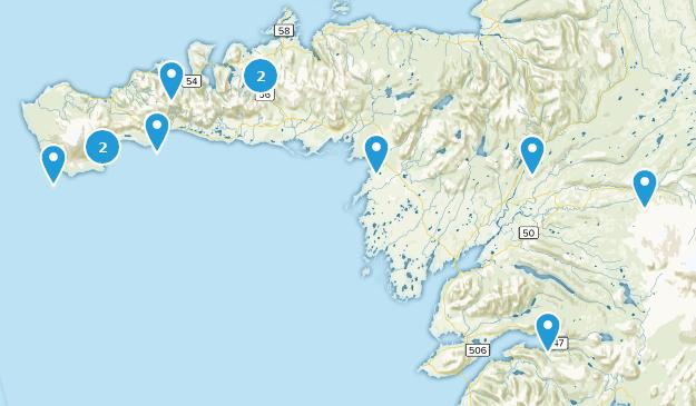 Western, Island Cities Map