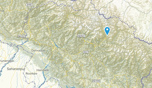 Uttaranchal, India Cities Map