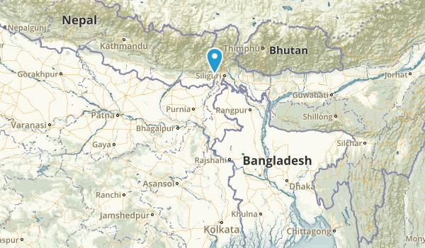 West Bengal, India Map