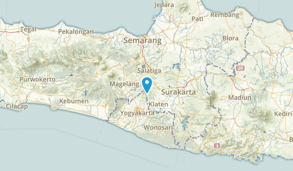 Jawa Tengah, Indonesia Map