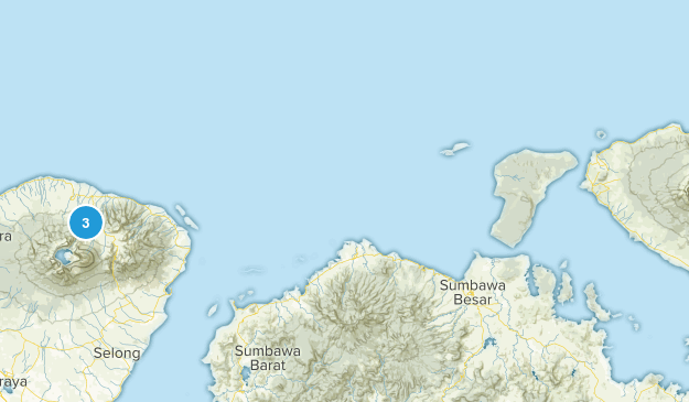 Lombok, Indonesia Map