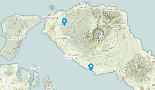 Sumbawa, Indonesia Map