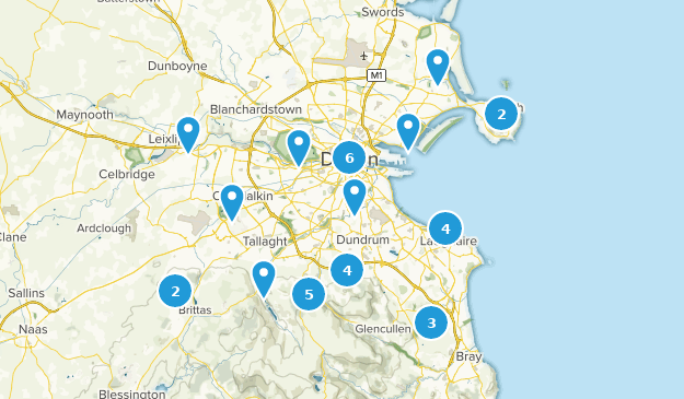County Map Of Ireland With Cities.Best Cities In County Dublin Ireland Alltrails