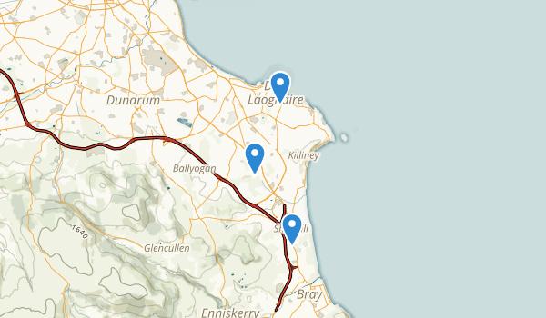 Dunlaoghaire-Rathdown, Ireland Map