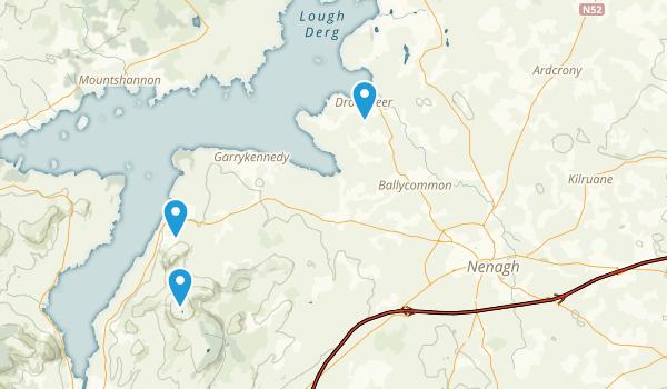 Tipperary County, Ireland Map