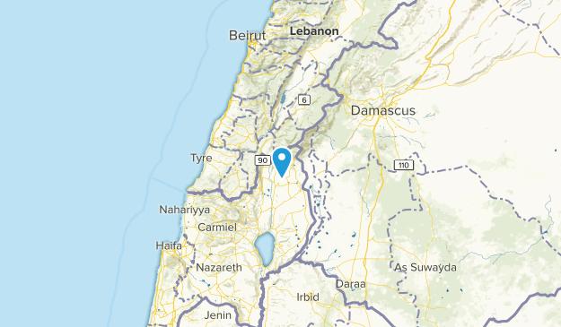 Al Qunaytirah, Israel Map