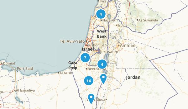 HaDarom, Israel Map