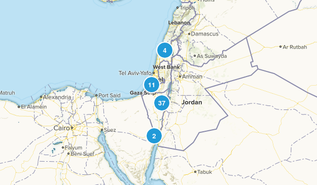 HaDarom, Israel Map