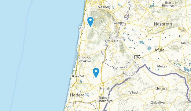 Haifa, Israel Cities Map