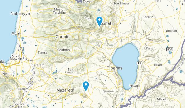 Northern, Israel Map