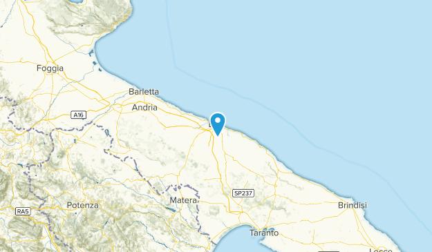 Apulia, Italy Map