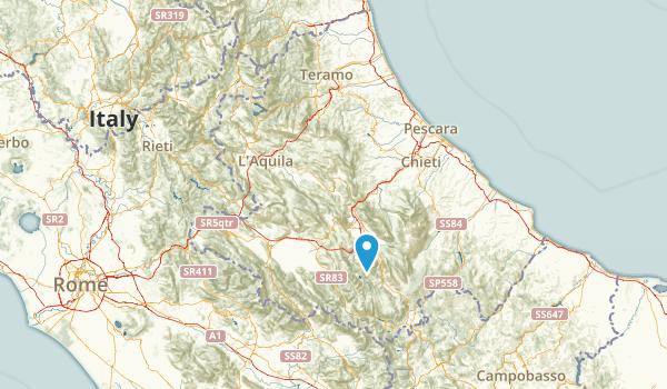 AQ, Italy Map