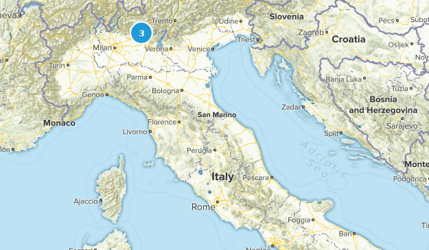 Molise, Italy Cities Map