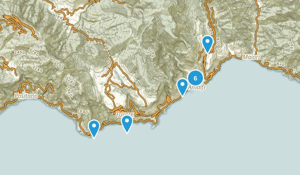 Salerno, Italy Map