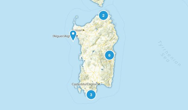 Sardinia, Italy Map