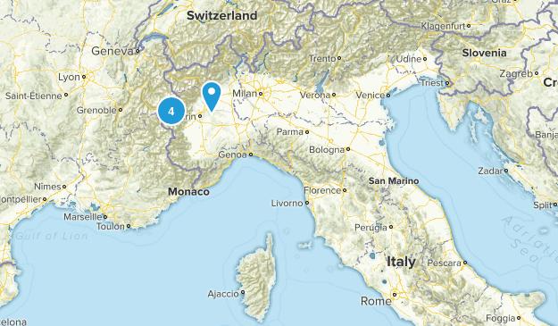 Umbria, Italy Cities Map