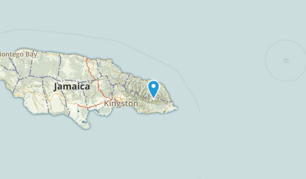 Portland, Jamaica Map