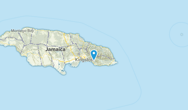 Saint Thomas, Jamaica Map