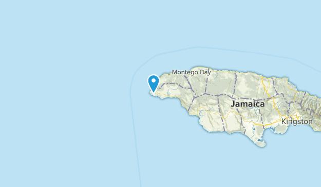 Westmoreland, Jamaika Map