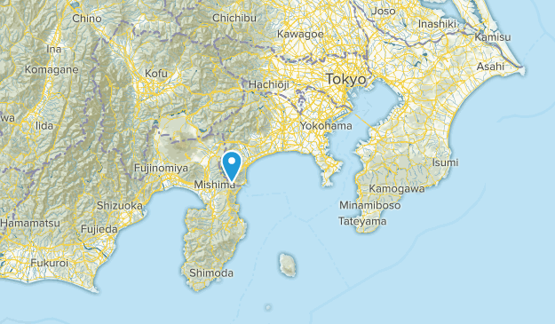 神奈川県, Japan Map