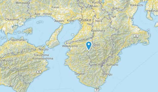和歌山県, Japan Map