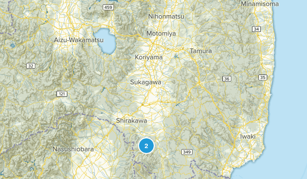 福島県, Japan Cities Map