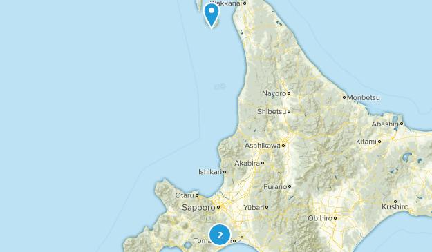 Hokkaido, Japan Map