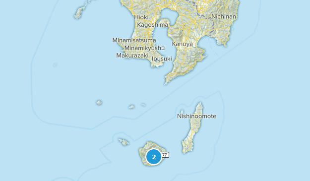Kagoshima, Japan Map