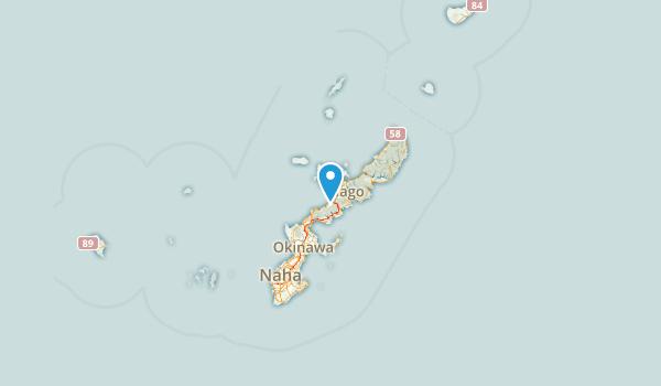 Okinawa Prefecture, Japan Map